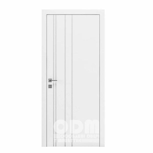 Двери Cortes  Prima с фрезировкой 1 белый матовый