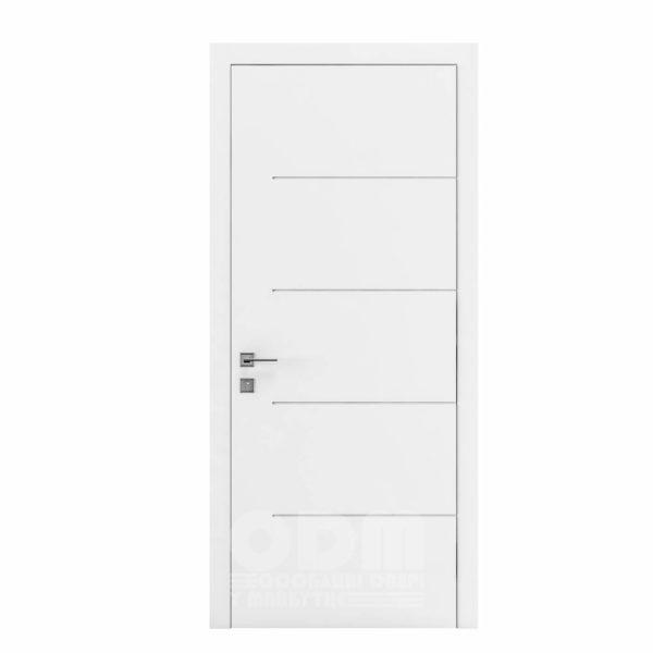 Двери Cortes  Prima с фрезировкой 23 белый матовый