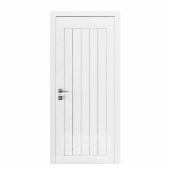 Двери Cortes  Prima с фрезировкой 24 белый матовый