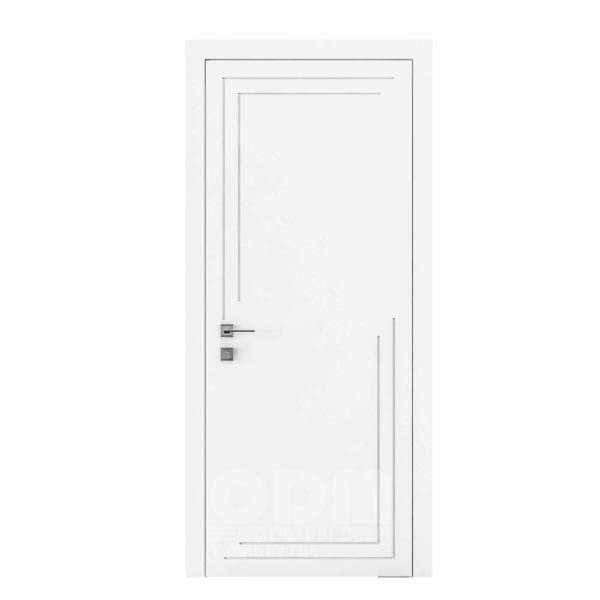 Двери Cortes  Prima с фрезировкой 27  белый матовый