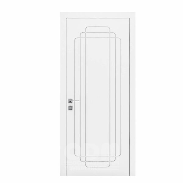 Двери Cortes  Prima с фрезировкой 28  белый матовый