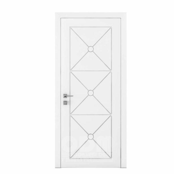 Двери Cortes  Prima с фрезировкой 29  белый матовый