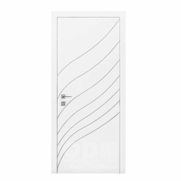 Двери Cortes  Prima с фрезировкой 30  белый матовый