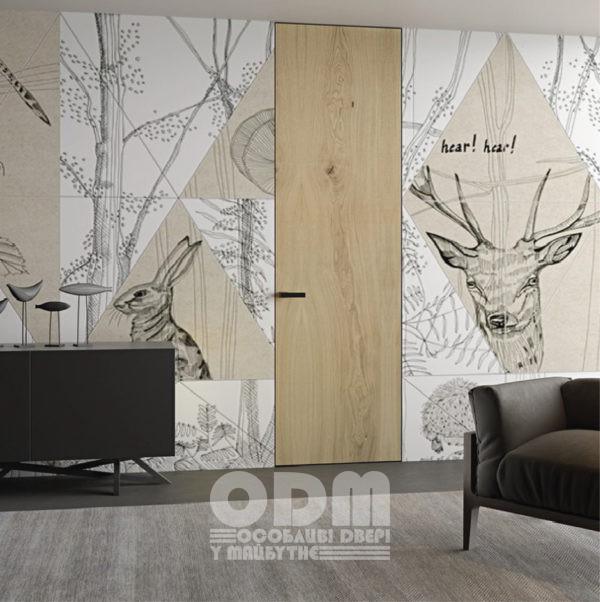 Двери Eldoor hi-wood Дуб натуральный Gloss-5%