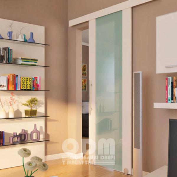 Раздвижная система HAFELE Design 150-U для одного полотна