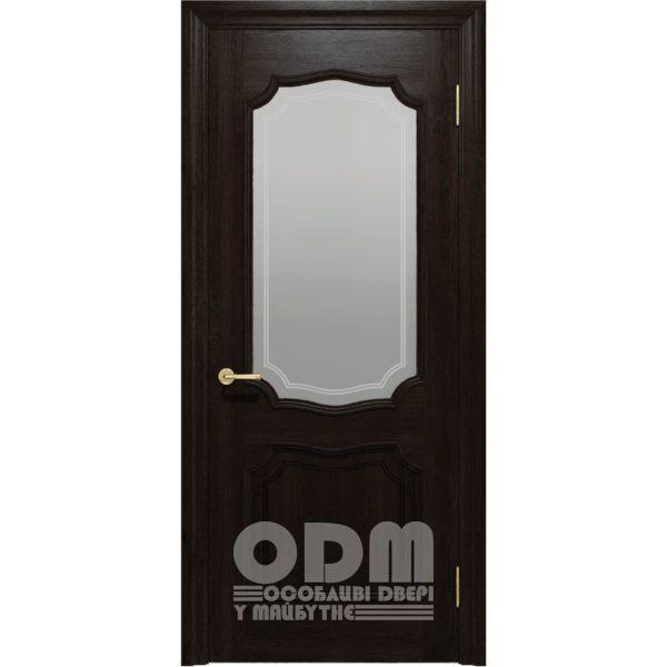 Двери Луидор ПО венге