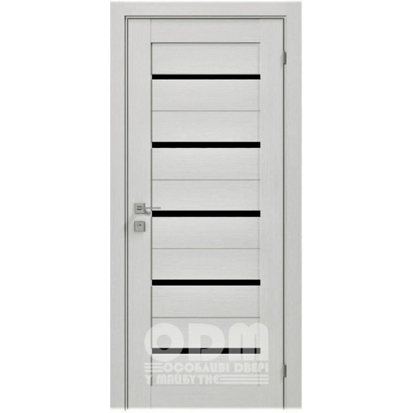 Двери Modern LAZIO BLK Дуб сонома