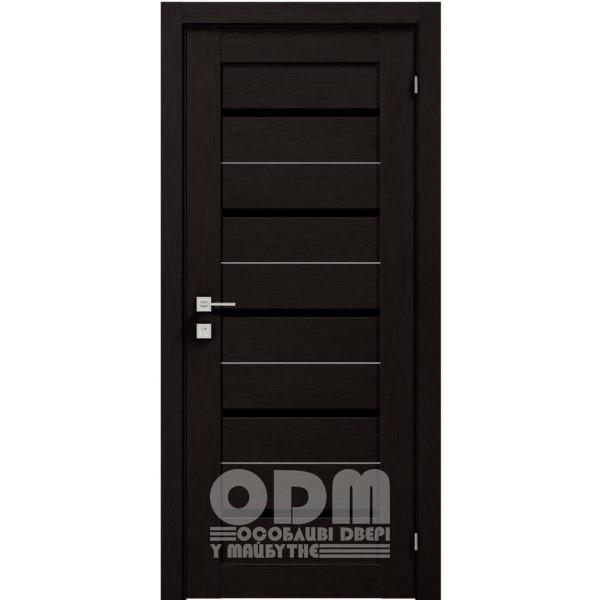 Двери Modern LAZIO BLK Венге шоколадный