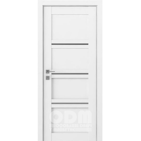 Двери Modern Quadro Белый мат