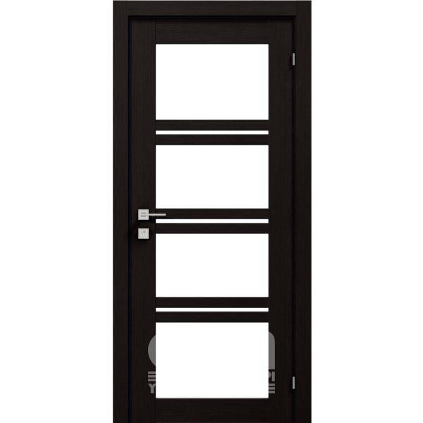 Двери Modern QUADRO ПО Венге шоколадный