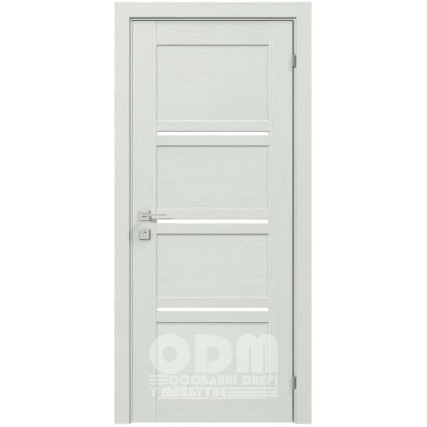 Двери Modern QUADRO полустекло Сосна Крем