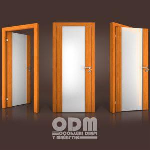 Двери Paolo Rossi MS 01 шпон дерево тик TI-0001PS