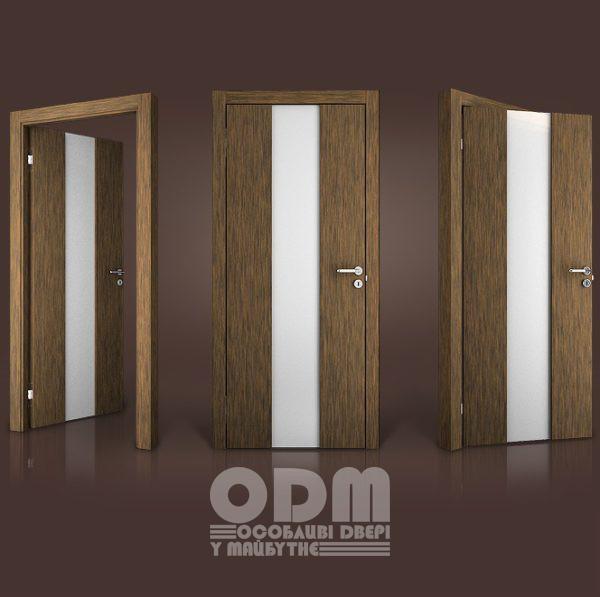 Двери Paolo Rossi MS 11 шпон дерево ебен HE-7069PW