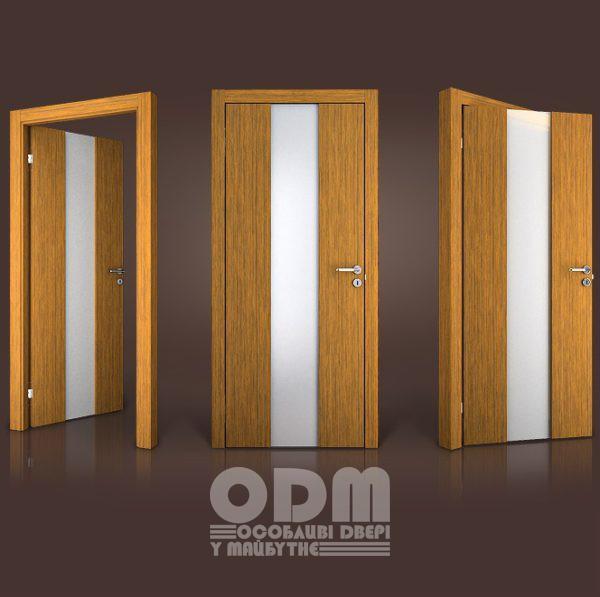 Двери Paolo Rossi MS 11 шпон дерево тик TI-0002PS