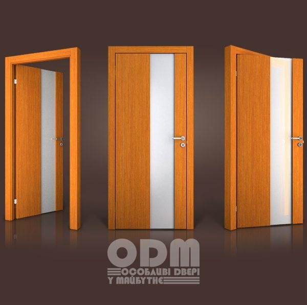 Двери Paolo Rossi MS12 шпон дерево тик TI-0001PS