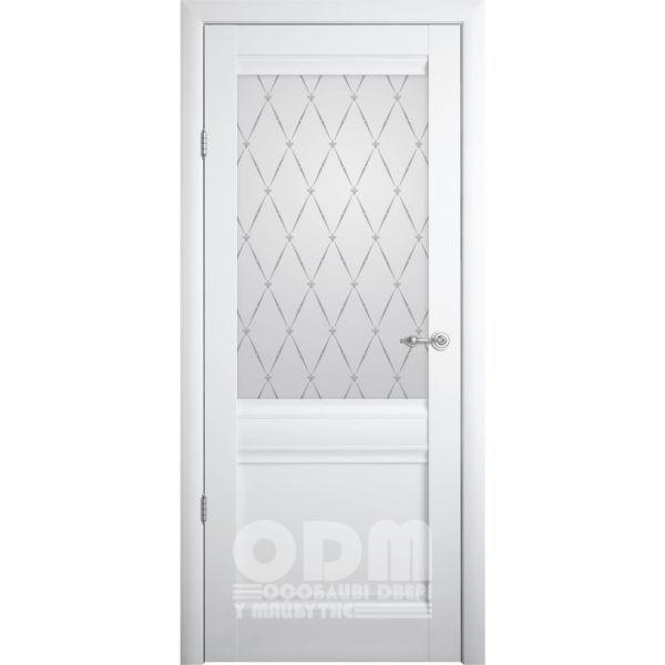 Двери Рим ПО Белый мат