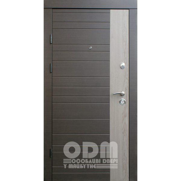 Входные двери Qdoors Премиум Kale Альт-M/Альт (венге серый горизонт)