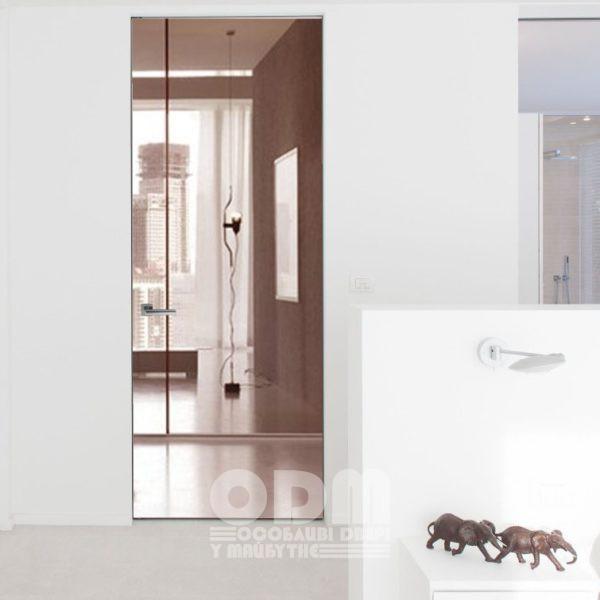 """Двери ODM Зеркало """"бронза"""""""