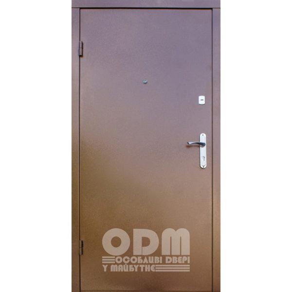 Входные двери Qdoors Вип Метал/Гранд (медный антик/вишня мореная)