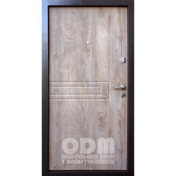 Входные двери Qdoors Премиум Kale Сиена-М (спил дерева)