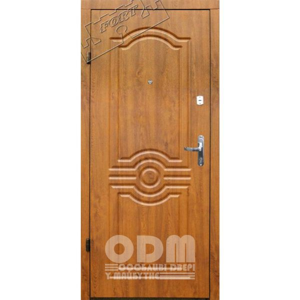 Входные двери ФОРТ Эконом Лондон (дуб золотой)