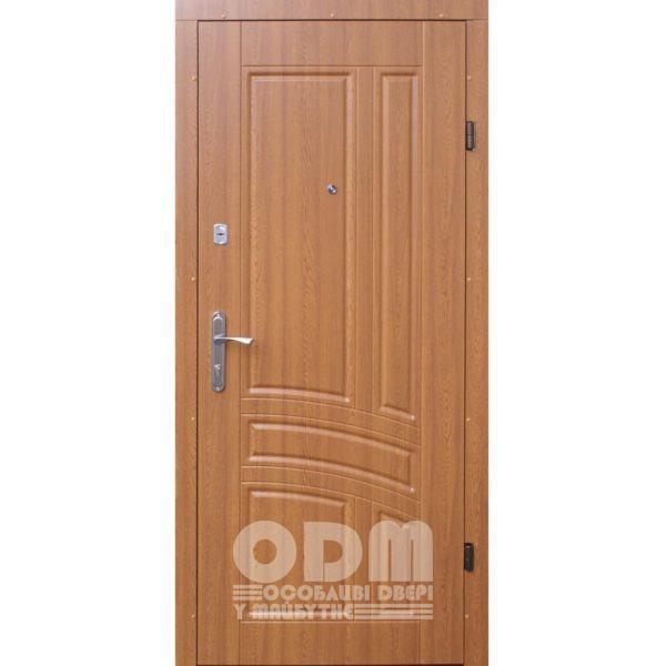 Входные двери ФОРТ Эконом Сириус (дуб золотой)