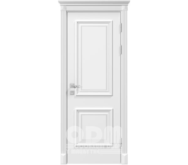 Двери Siena Laura глухое, белый матовый