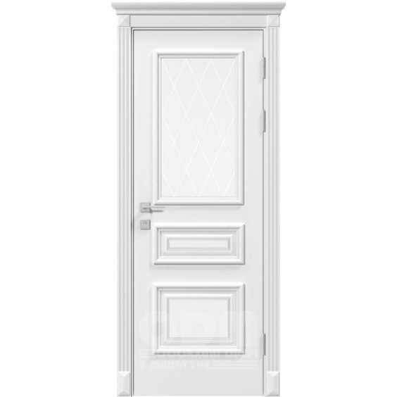 Двери Siena Rossi глухое, белый матовый
