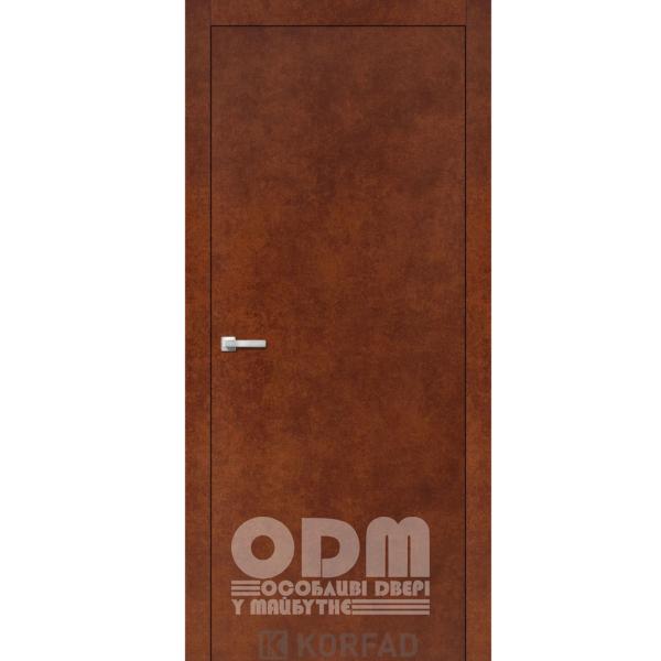 Двери LP - 01 Сталь кортен