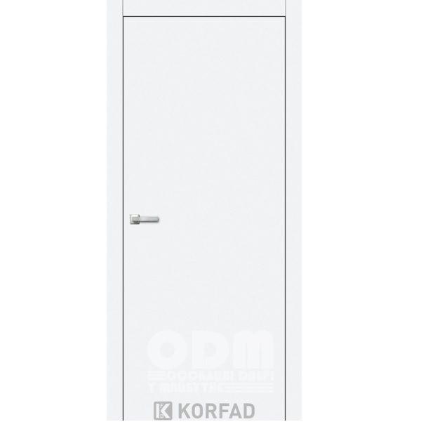 Двери LP - 01 Белый перламутр