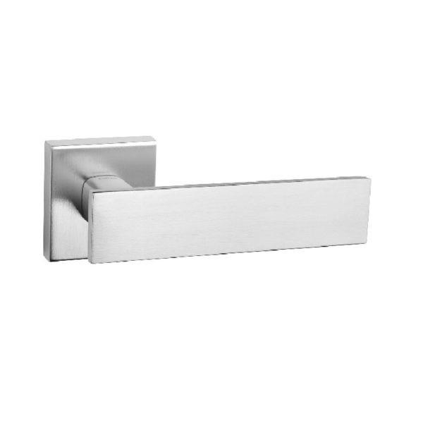 Дверная ручка Tupai LINA2 2730Q Хром матовый