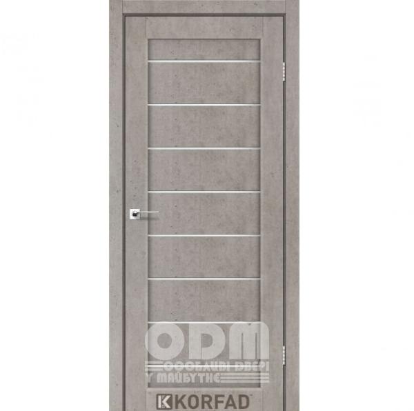 Двери PND-01 Лайт Бетон