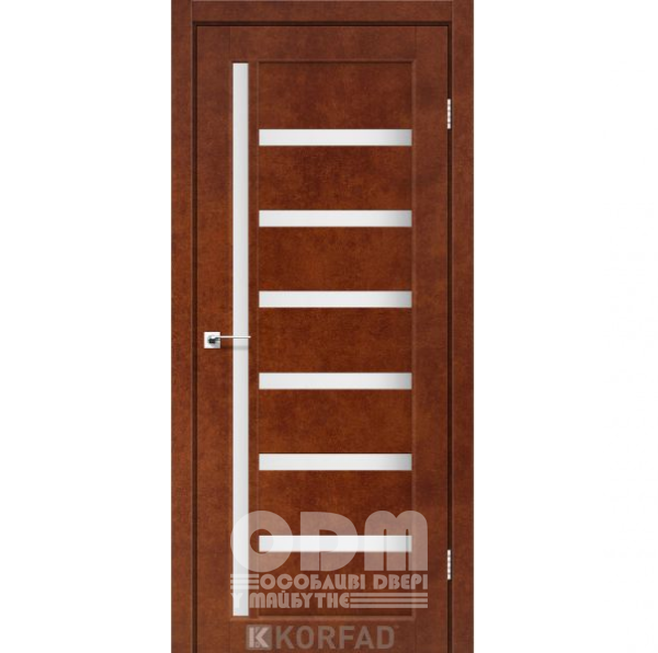 Двери VL-01 Сталь кортен