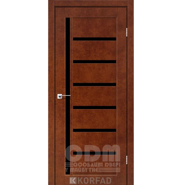 Двери VLD-01 Сталь кортен