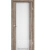 Двери SR-01 Эш-вайт, триплекс белый