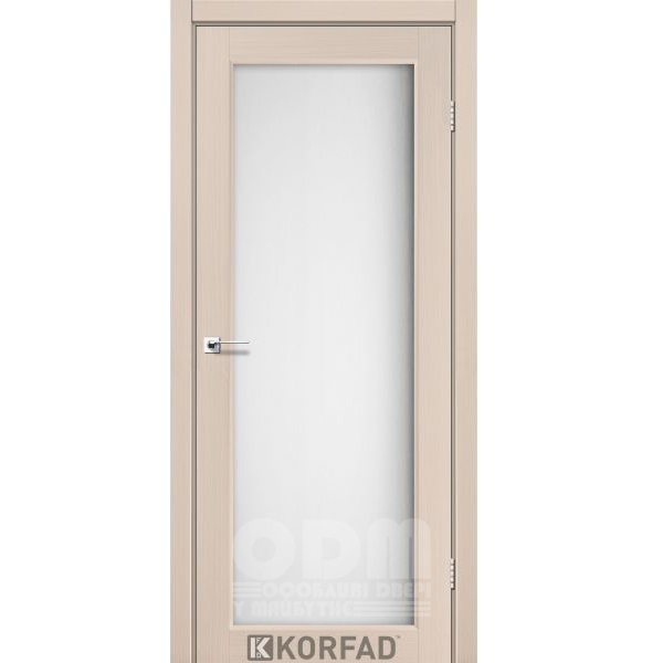 Двери SV-01 Дуб беленный, сатин белый