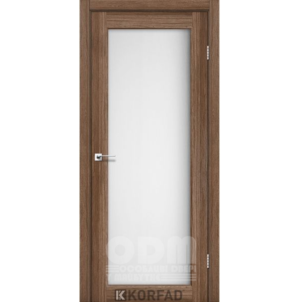 Двери SV-01 Дуб Грей, сатин белый