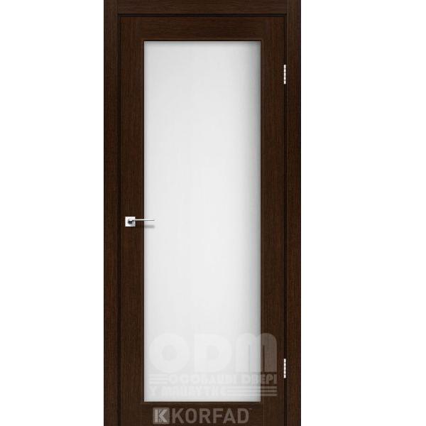 Двери SV-01 Венге, сатин белый